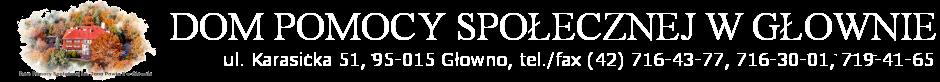 Miejski Ośrodek Pomocy Społecznej w Głownie - Logo